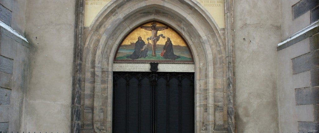 Luther's Doors - All Saints' Church Wittenberg